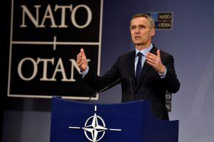 """NATO vadovas: pratybose """"Zapad"""" neįžvelgiu """"neišvengiamos grėsmės"""""""