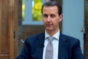 """Sirijos prezidentas: cheminė ataka yra """"šimtaprocentinė klastotė"""""""