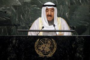 Kuveito emyras vyksta į Saudo Arabiją spręsti diplomatinės krizės dėl Kataro