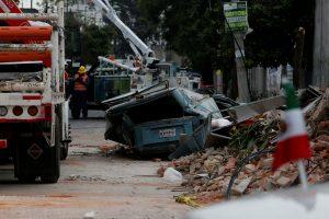 Per žemės drebėjimą Meksikoje žuvo mažiausiai 32 žmonės