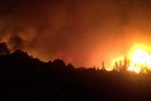 Portugalijoje ir Ispanijoje per miškų gaisrus žuvo 34 žmonės