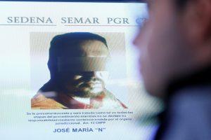 "Meksikoje suimtas narkotikų kartelio ""Los Zetas"" vadeiva"