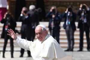 Popiežius Dievo Gailestingumo mišiose kalbėjo apie susitaikymą