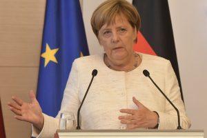 A. Merkel: Vokietija palaiko Gruzijos integraciją į ES
