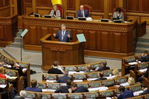 Rada  pritarė siūlymui konstitucijoje įtvirtinti euroatlantinius siekius
