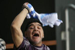 D. Maradona pripažino esąs dar trijų vaikų tėvas