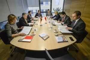 Lietuva reiškia paramą į Jungtinių Tautų Saugumo Tarybą kandidatuojančiai Lenkijai