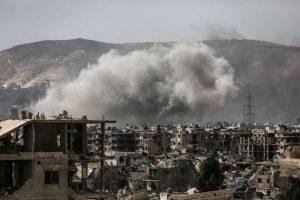 JAV smogė į Sirijos režimą palaikančių pajėgų transporto konvojų