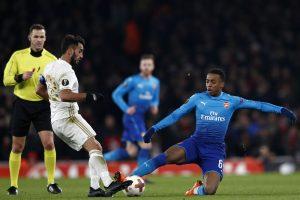 """Europos lyga: """"Arsenal"""" vos neprisižaidė, """"Napoli"""" iškrito"""