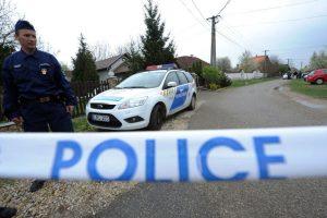 Vengrijoje įtariamas neonacis per susišaudymą nušovė policininką