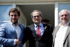 Šeštadienį baigsis tiesioginis Katalonijos valdymas iš Madrido