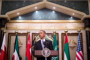 JAV prezidentas: nė viena šalis nėra suinteresuota konfliktu su Iranu