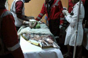 Kenijos sostinėje gelbėtojai tarp griuvėsių rado septynių mėnesių mergaitę