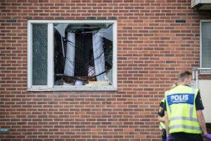 Švedijos Geteborgo mieste sprogus į butą įmestai granatai žuvo mažametis