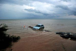Graikijoje po smarkios liūties kilę potvyniai nusinešė 3 gyvybes, 1 žmogus dingo
