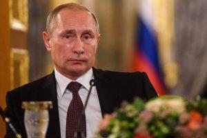 V. Putinas: prancūzų siūloma JT rezoliucija tik kaitina atmosferą