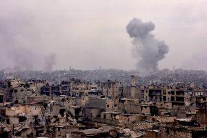 Maskva kaltina Vakarus prisidėjus prie rusų karo medikės žūties Alepe