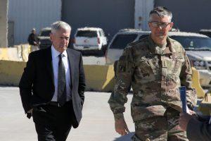 Pareigūnas: JAV kariai buvo apšaudyti mūšyje dėl Mosulo