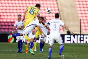 Pasaulio čempionato atranka: Ukrainos pergalė ir dramatiškos airių lygiosios