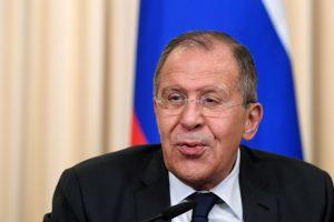 S. Lavrovas pasmerkė JAV sprendimą išplėsti sankcijas Rusijai