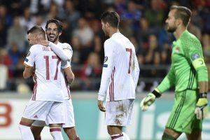 Pasaulio čempionato atranka: Ispanija pasityčiojo iš Lichtenšteino