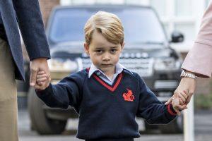 Neteisėtai į princo George'o mokyklą Londone įėjusiai moteriai – įspėjimas