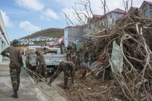 """Maria"" sustiprėjo iki 3-ios kategorijos uragano"