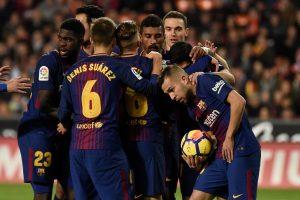 """""""Barcelona"""" nesunkiai žengė į Karaliaus taurės aštuntfinalį"""
