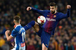 """Karaliaus taurė: """"Barcelona"""" įveikė """"Espanyol"""" ir žengė į pusfinalį"""