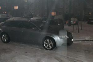 Kaunietis: palikti viduryje gatvės automobilį ir užtverti pravažiavimą normalu?