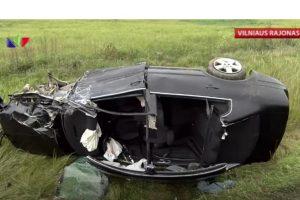 Vilniaus rajone – mirtina automobilių kaktomuša
