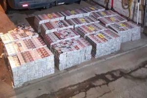Policija sulaikė vyrą, vežusį cigarečių už beveik 24 tūkstančius eurų