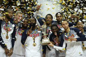 Be intrigos: JAV ekipa tarsi volu pervažiavo serbus ir tapo pasaulio čempione