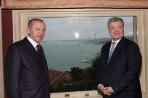 P. Porošenka ir R. T. Erdoganas susitikime aptarė Krymo totorių padėtį