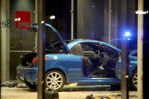 Į Vokietijos socialdemokratų partijos būstinę įlėkė automobilis