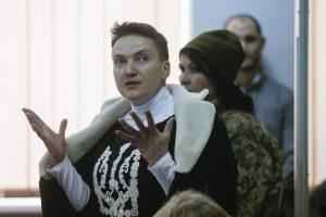 Suimta N. Savčenko pradeda bado streiką