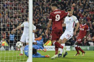 """""""Liverpool"""" futbolininkai pergale pradėjo Čempionų lygos pusfinalį"""