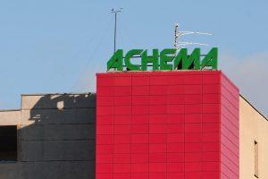 """""""Achemos"""" gamykloje buvo kilęs gaisras"""