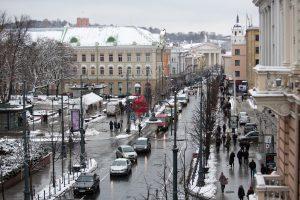 Prognozuojama, kad Vilnius gali aplenkti Rygą