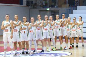 18-metės Lietuvos krepšininkės užtikrintai nugalėjo šveicares