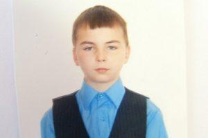 Policija ieško dingusio dešimtmečio berniuko