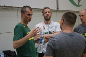 M. Kiltinavičius: labai laukiame treniruočių proceso