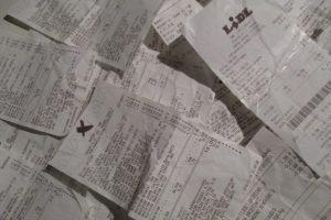 Kasos kvitų popierius kenkia sveikatai