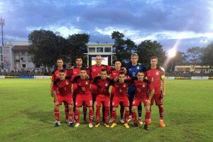 Rezervinė Lietuvos futbolo rinktinė nugalėjo Šri Lankos B komandą