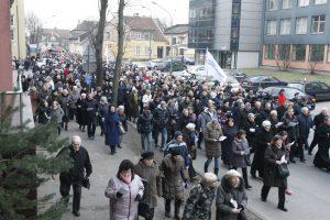 Klaipėdos gatvėse – tikinčiųjų procesija