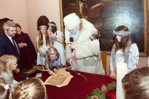 Rokiškyje atidaryta Kalėdų rezidencija
