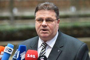 L. Linkevičius: jei JAV sugriežtins sankcijas Rusijai,  ES turi daryti tą patį