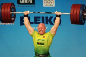 Pasaulio sunkiosios atletikos čempionate A. Didžbalis liko neklasifikuotas
