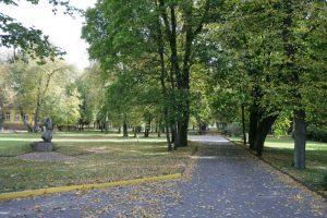 Vilniuje atnaujinamas Sapiegų parkas