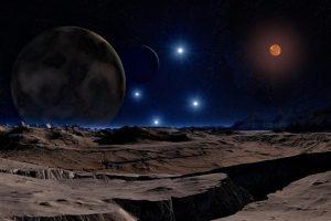 Astronomus nustebino atrasta nauja milžiniška planeta, skriejanti apie mažytę saulę